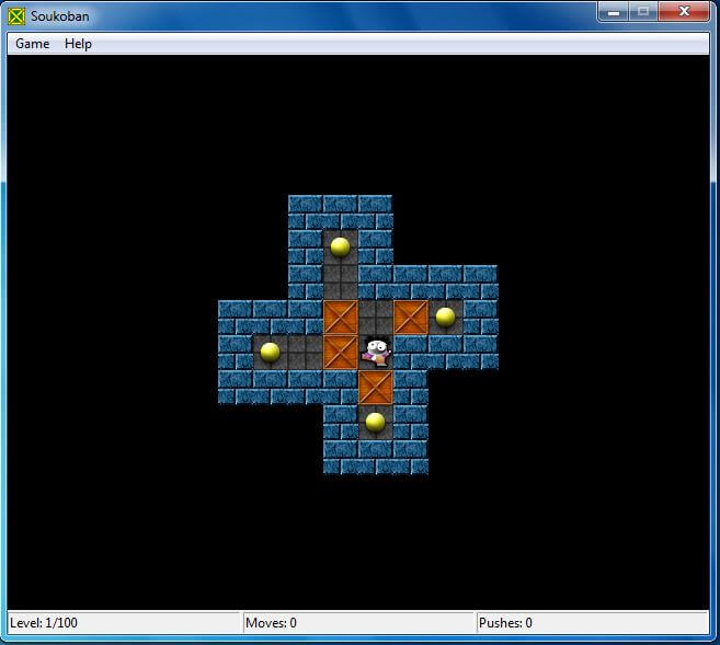 BoxMan - Game Puzzle hay